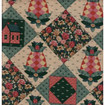 QUILT PRINTED FABRIC
