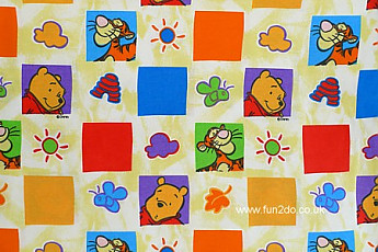 Pooh Bear and Tigger squares. - Click to Enlarge