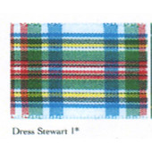 Dress Stewart 1 Polyester Tartan (7622)