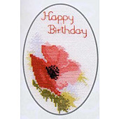 Poppies Card  CDG01