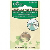 Clover Adjustable Ring Thimble.